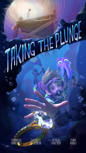 Ya podéis disfrutar de 'Taking the Plunge', un corto que no envidia nada a los de Pixar