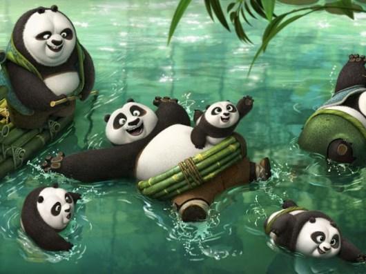 Primeras imágenes oficiales de 'Kung Fu Panda 3'