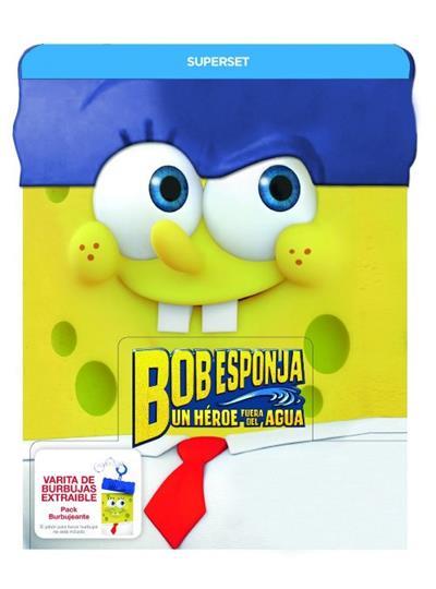 A la venta 'Bob Esponja: Un héroe fuera del agua' en DVD, Blu-ray y Pack burbujeante