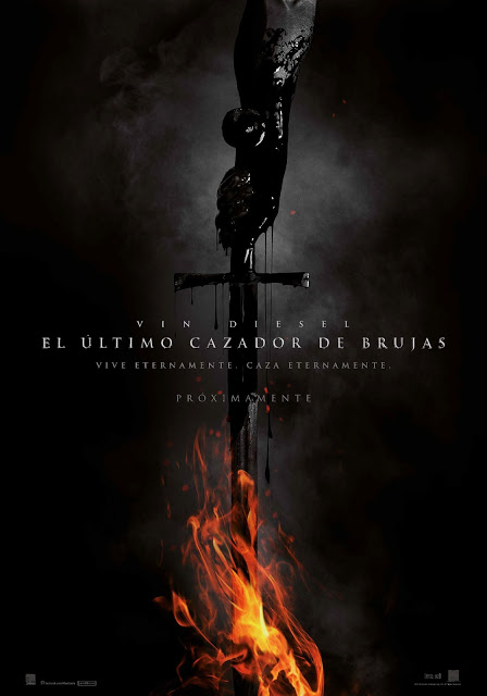 Téaser póster español de 'El último cazador de brujas'