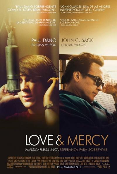Póster de 'Love & Mercy' con John Cusack, Paul Dano, Elizabeth Banks y Paul Giamatti