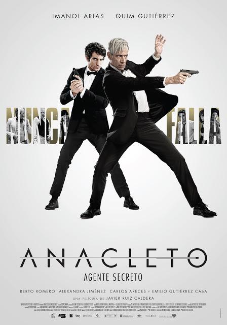 Póster y tráiler final de 'Anacleto: Agente secreto'