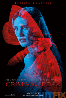 Pósters exclusivos del Comic-Con de 'La cumbre escarlata' ('Crimson Peak')