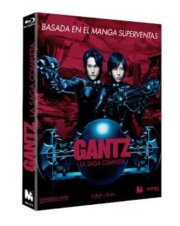 """""""Gantz: La Saga Completa"""" disponible en Blu-ray a partir del 21 de Octubre en edición digipack"""