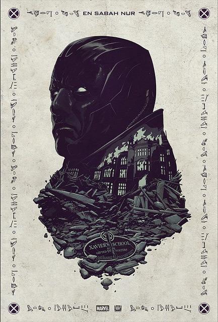 Primer póster de 'X-Men: Apocalypse' revelado en la Comic-Con de San Diego