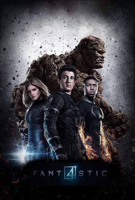 El grupo unido en los nuevos pósters de 'Cuatro Fantásticos'