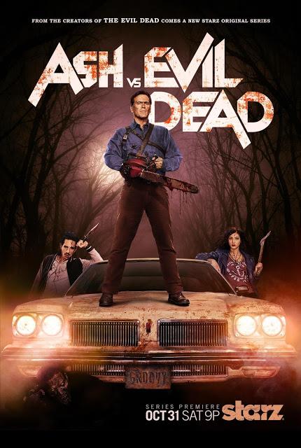 Revelado el nuevo póster de 'Ash vs Evil Dead'