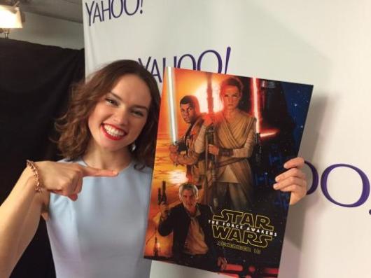 El póster de 'Star Wars: El Despertar de la Fuerza' del mítico Drew Struzan visto en la D23