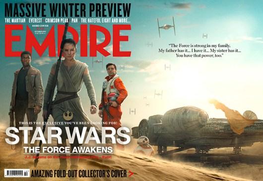 'Star Wars: El despertar de la Fuerza' acapara la portada de la revista Empire