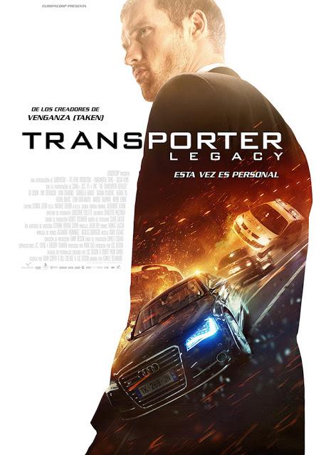 Póster y tráiler final de 'Transporter Legacy'