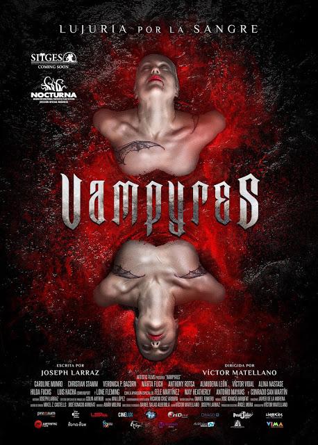 Póster y tráiler de 'Vampyres', que llegará a los cines en septiembre