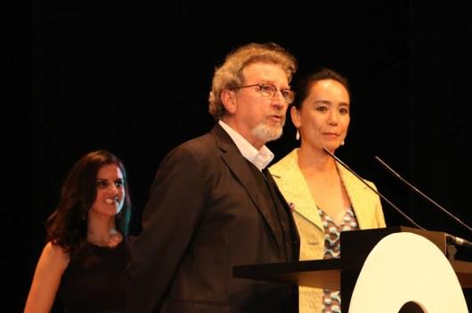 Robert Guédiguian y Naomi Kawase