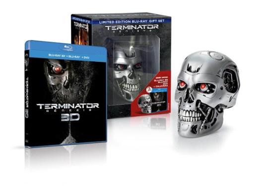 A la venta 'Terminator Genesis' en Blu-ray 3D, Blu-ray y DVD, además de edición endo-calavera y metálica