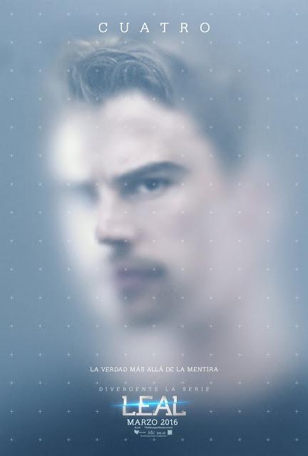 Primeros pósters de 'La saga Divergente: Leal' centrados en Tris y Cuatro