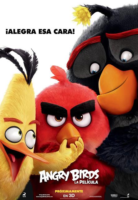 Teaser póster de 'Angry Birds, la película'