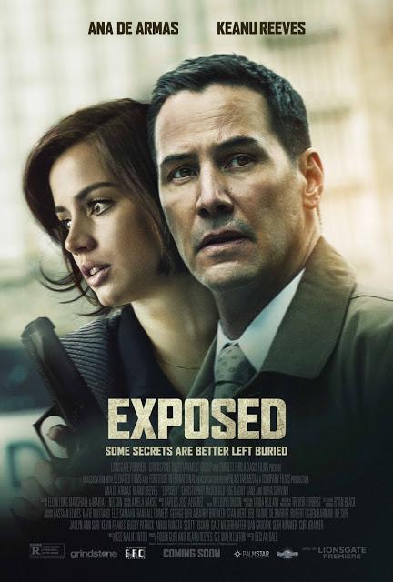 Primer póster y nuevo tráiler de 'Exposed', con Keanu Reeves y Ana de Armas