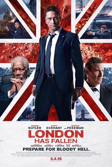 Nuevo póster de 'Objetivo: Londres' centrado en Gerard Butler