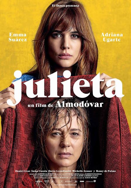 Póster oficial de 'Julieta', la nueva película de Pedro Almodóvar