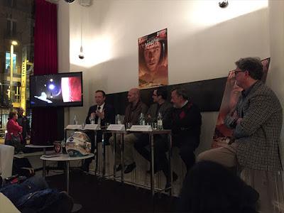 Evento de presentación de 'Marte (The martian)' en DVD, Blu-ray y Blu-ray 3D
