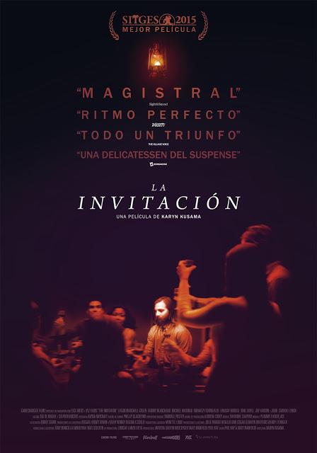 Tráiler y remesa de pósters de 'La invitación' de Karyn Kusama