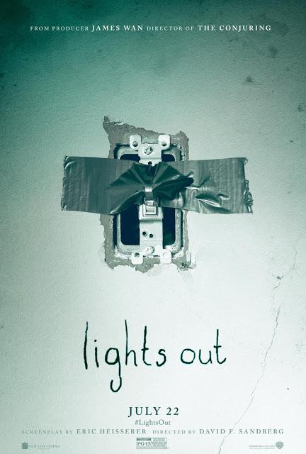 Nuevo tráiler y póster de 'Lights out'
