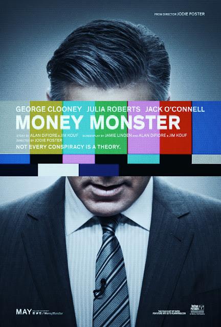 Nuevo póster de 'Money monster', de Jodie Foster, con George Clooney y Julia Roberts