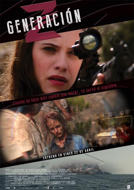 Póster y tráiler español de 'Generación Z'... Los zombies siguen de moda