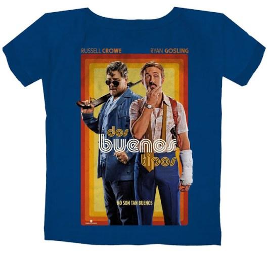 Concurso 8º aniversario (XIII): Camisetas de 'Dos buenos tipos' gracias a TriPictures