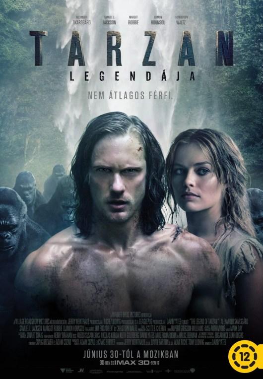 Nuevo póster internacional de 'La leyenda de Tarzán' con Alexander Skarsgård y Margot Robbie