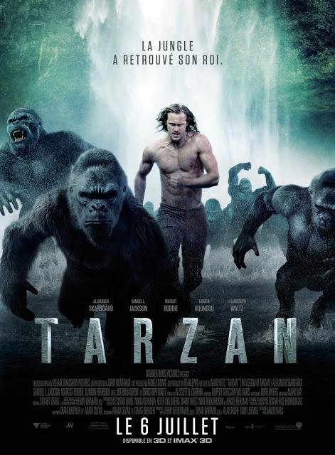 Nuevo póster internacional de 'La leyenda de Tarzán'