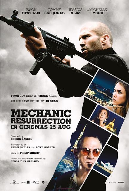 Publicado un nuevo póster de 'Mechanic: Resurrection'