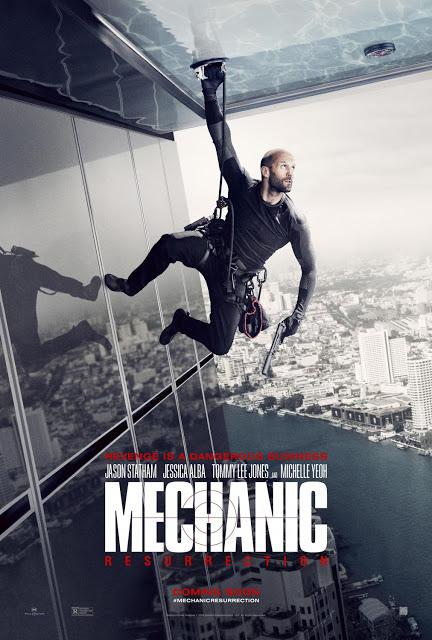 Nuevo póster y primer tráiler de 'Mechanic: Resurrection'