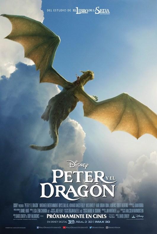 Nuevo póster internacional de 'Peter y el dragón'