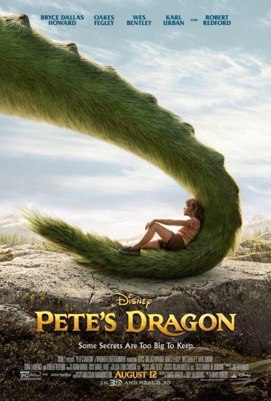Nuevo póster internacional de 'Peter y el dragón', remake de 'Pedro y el dragón Elliot'