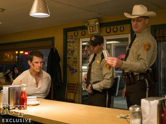 Nuevas fotos de 'Jack Reacher: Never Go Back' con Tom Cruise y Cobie Smulders