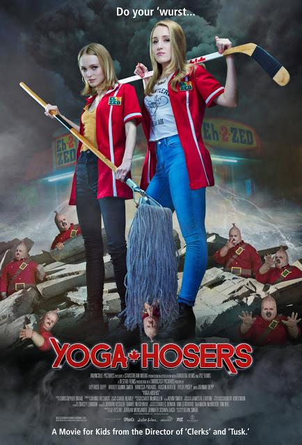 Primer póster de 'Yoga Hosers', lo nuevo de Kevin Smith