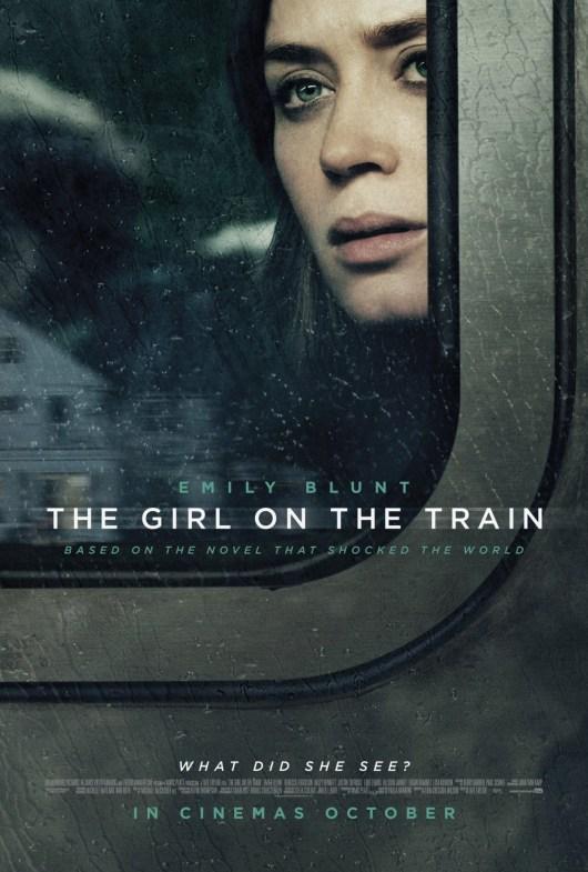 Emily Blunt acapara el nuevo póster de 'La chica del tren'