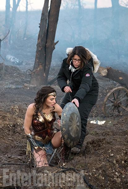 Nuevas fotos de 'Wonder Woman' con Gal Gadot