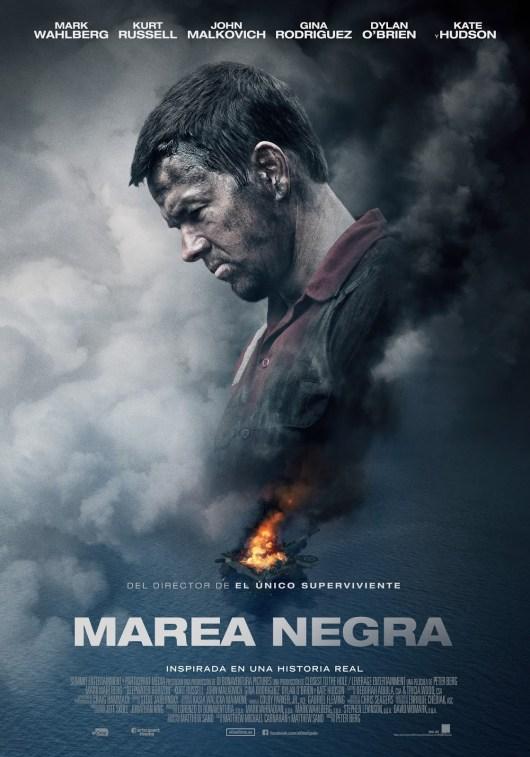 Tráiler final y póster español de 'Marea negra' con Mark Wahlberg