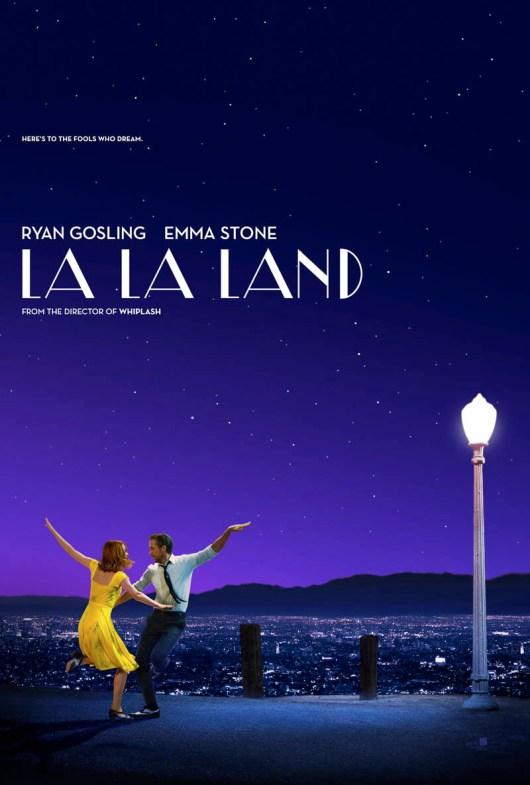 Póster de 'La La Land' con Emma Stone y Ryan Gosling