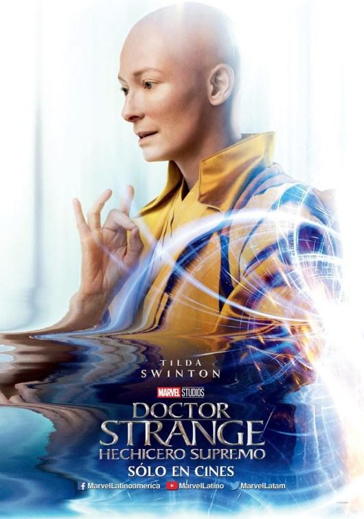 Pósters de personajes, en movimiento y clips de vídeo de 'Doctor Strange (Doctor Extraño)'