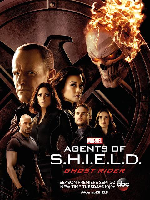 Nuevo avance y póster de 'Agentes de S.H.I.E.L.D.' con Ghost Rider