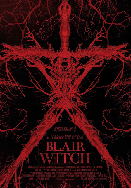 Póster final y teaser tráiler español de 'Blair Witch'