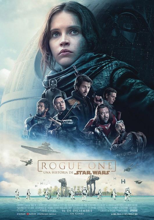 Póster y tráiler español de 'Rogue One: una historia de Star Wars'