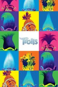 """Pósters de la película """"Trolls"""""""
