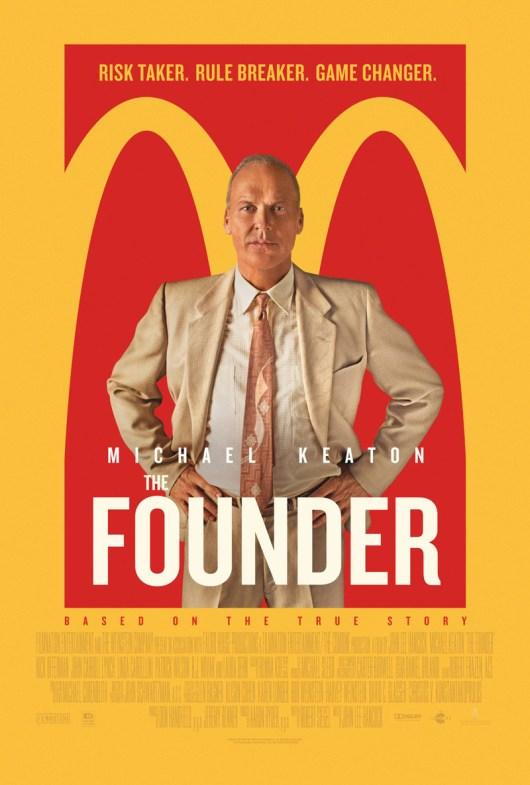 Nuevo póster internacional de 'El fundador' con Michael Keaton
