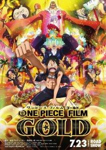 "Pósters de la película ""One Piece Película 13: Gold"""