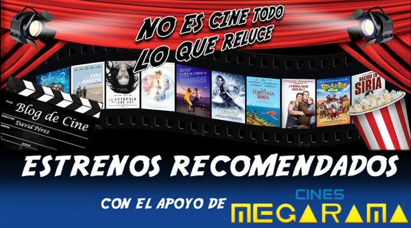 Vídeo avance y recomendaciones de la semana: 13 de Enero de 2017