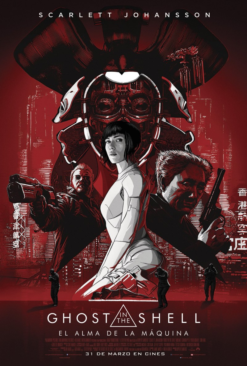 GHOST IN THE SHELL: EL ALMA DE LA MAQUINA