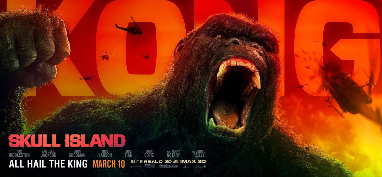 'Kong: La isla Calavera': Nuevo banner del regreso de King Kong a los cines